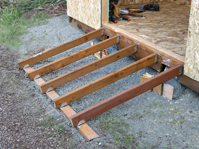 How to Build a Wooden Shed Ramp